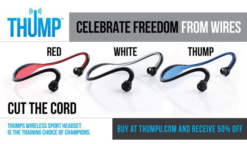 THUMP RUN REVEL BLU Deal