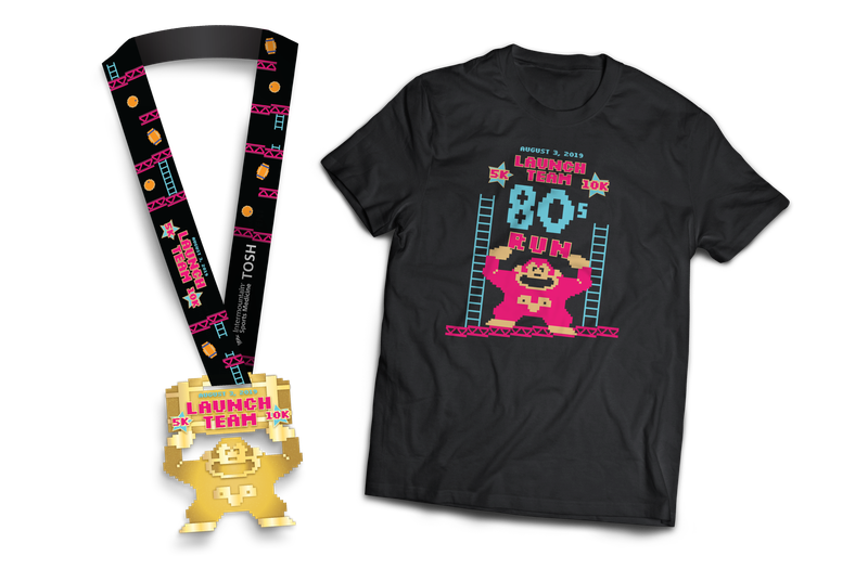 Launch Team 5K/10K Tshirt and Medal